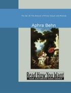 The Fair Jilt : The Amours Of Prince Tarquin And Miranda by Aphra Behn