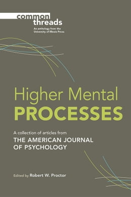 Book Higher Mental Processes by Robert W Proctor