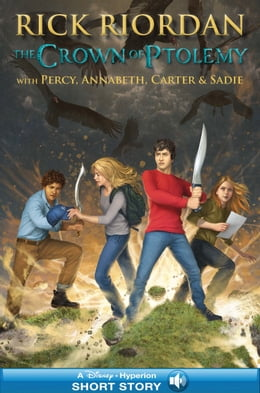 Book The Crown of Ptolemy by Rick Riordan