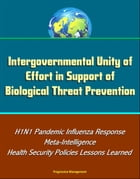 Intergovernmental Unity of Effort in Support of Biological Threat Prevention: H1N1 Pandemic Influenza Response, Meta-Intelligence, Health Security Pol