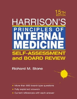 Book Harrison's Principles of Internal Medicine: Self-Assessment and Board Review by Stone, Richard