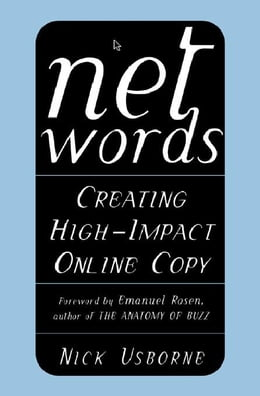 Book Net Words: Creating High-Impact Online Copy by Usborne, Nick
