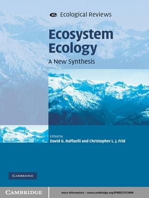 Ecosystem Ecology A New Synthesis