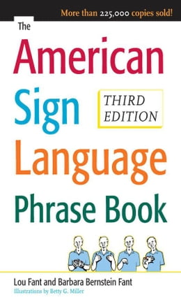 Book The American Sign Language Phrase Book by Bernstein Fant, Barbara