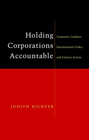 Holding Corporations Accountable: Corporate Conduct, International Codes and Citizen Action
