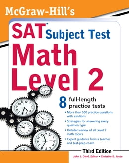 Book McGraw-Hill's SAT Subject Test Math Level 2, 3rd Edition by John Diehl