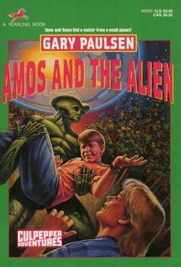 Book AMOS AND THE ALIEN by Gary Paulsen
