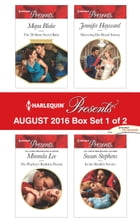Harlequin Presents August 2016 - Box Set 1 of 2: The Di Sione Secret Baby\The Playboy's Ruthless…