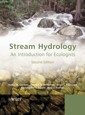 Stream Hydrology An Introduction for Ecologists