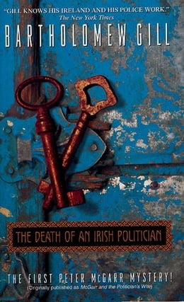 Book The Death of an Irish Politician by Bartholomew Gill