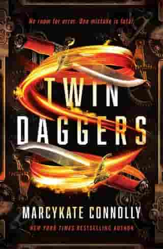 Twin Daggers by MarcyKate Connolly