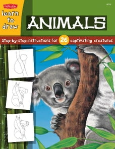 Animals: Step-by-step instructions for 26 captivating creatures