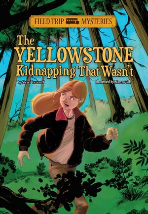 Field Trip Mysteries: The Yellowstone Kidnapping That Wasn't by Steve Brezenoff