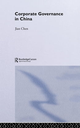 Book Corporate Governance in China by Chen, Jian