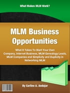 MLM Business Opportunities by Carline A. Andujar