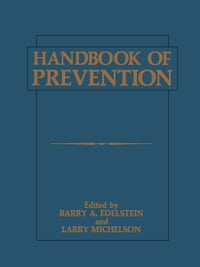 Handbook of Prevention