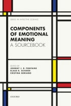 Components of emotional meaning: A sourcebook