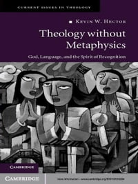 Theology without Metaphysics: God, Language, and the Spirit of Recognition