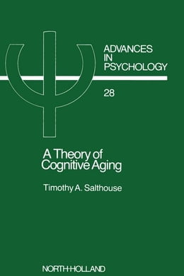 Book A Theory of Cognitive Aging by Salthouse, T.