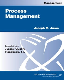 Book Process Management by Juran, Joseph M