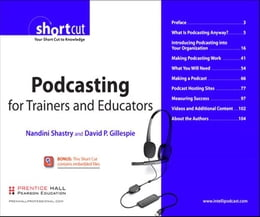 Book Podcasting for Trainers and Educators, Digital Short Cut by Nandini Shastry