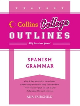 Book Spanish Grammar by Ana Fairchild