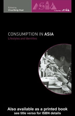 Book Consumption in Asia by Chua, Beng-Huat