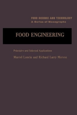 Book Food Engineering: Principals And Selected Applications by Loncin, Matcel