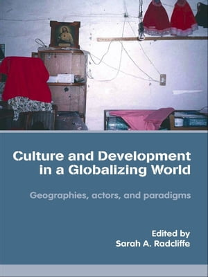 Culture and Development in a Globalizing World Geographies,  Actors and Paradigms