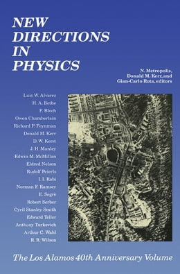 Book New Directions In Physics by Metropolis, N.