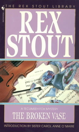 Book The Broken Vase by Rex Stout