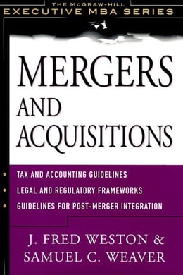 Book Mergers and Acquistions by Weston, J. Fred