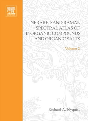 Handbook of Infrared and Raman Spectra of Inorganic Compounds and Organic Salts: Raman Spectra