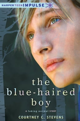 Book The Blue-Haired Boy: A Faking Normal Story by Courtney C. Stevens