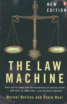 Book The Law Machine by Marcel Berlins