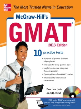 Book McGraw-Hill's GMAT 2013 Edition by James Hasik