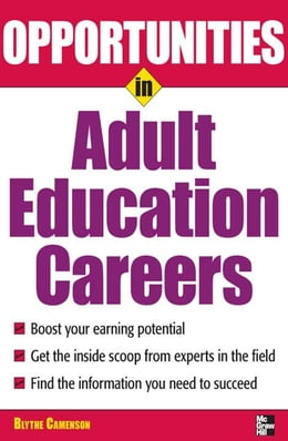 Book Opportunities in Adult Education by Camenson, Blythe