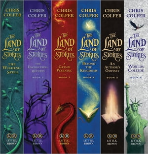 The Land of Stories Complete Gift Set by Chris Colfer