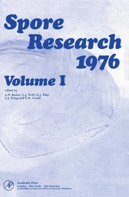 Book Spore Research 1976 V1 by Barker, A.N.