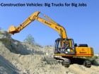 Construction Vehicles: Big Trucks for Big Jobs (Kids Series) by Anthony Martinelli