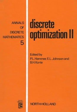 Book Discrete Optimization I by Hammer, P.L.