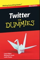 Twitter For Dummies, Mini Edition