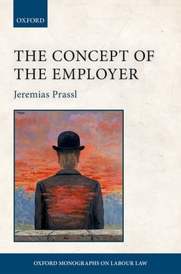 Book The Concept of the Employer by Jeremias Prassl