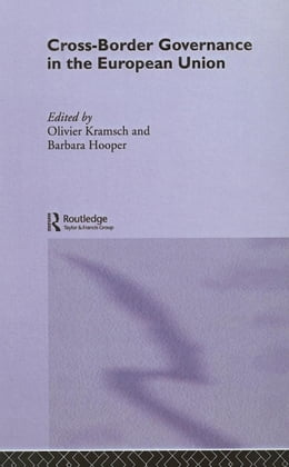 Book Cross-Border Governance in the European Union by Hooper, Barbara