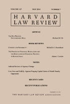 Harvard Law Review: Volume 127, Number 7 - May 2014 by Harvard Law Review