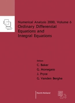 Book Ordinary Differential Equations and Integral Equations by Baker, C.T.H.