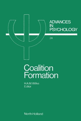 Book Coalition Formation by Wilke, H.A.M.