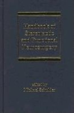 Book Handbook of Stereotactic and Functional Neurosurgery by Schulder, Michael