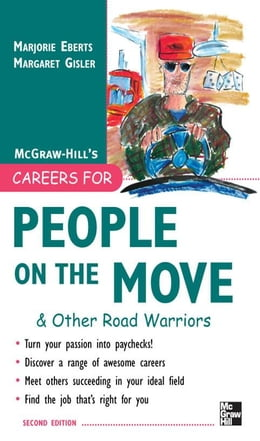 Book Careers for People on the Move & Other Road Warriors by Eberts, Marjorie