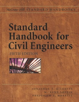 Book Standard Handbook for Civil Engineers by Ricketts, Jonathan